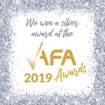 Silver Award at AFA Awards 2019
